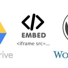 Embed ข้อมูลจาก google drive มาไว้ที่เว็บไซต์
